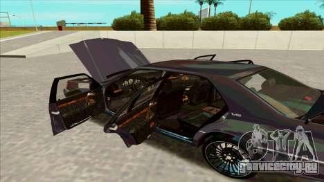 Mercedez-Benz W140 для GTA San Andreas вид справа