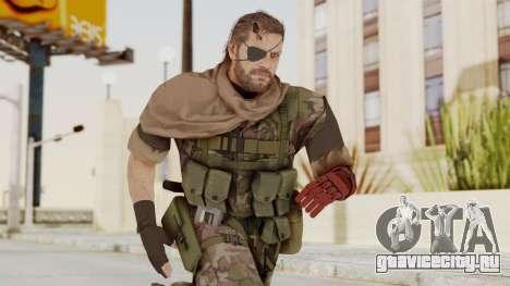 MGSV The Phantom Pain Venom Snake Scarf v6 для GTA San Andreas