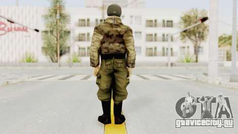 Russian Solider 3 from Freedom Fighters для GTA San Andreas третий скриншот