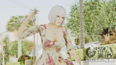 Dead Or Alive 5 LR - Christie Casual New Hair для GTA San Andreas