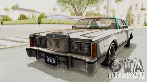 GTA 5 Dundreary Virgo Classic Custom v2 IVF для GTA San Andreas вид снизу