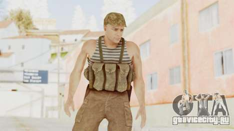 MGSV The Phantom Pain Soviet Union Tanktop v2 для GTA San Andreas