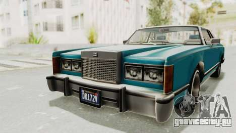 GTA 5 Dundreary Virgo Classic Custom v3 для GTA San Andreas вид сзади