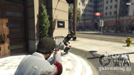 Realistic Bullet Damage для GTA 5 третий скриншот
