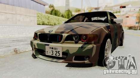 BMW 3 Series E46 для GTA San Andreas