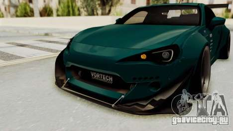 Scion FRS Rocket Bunny Killagram v1.0 для GTA San Andreas вид сверху