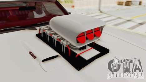 Pontiac Firebird 400 1968 Monster Truck для GTA San Andreas вид сзади