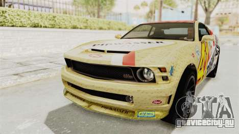 GTA 5 Vapid Dominator v2 SA Style для GTA San Andreas вид изнутри
