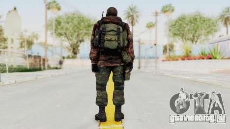 Battery Online Russian Soldier 9 v2 для GTA San Andreas третий скриншот