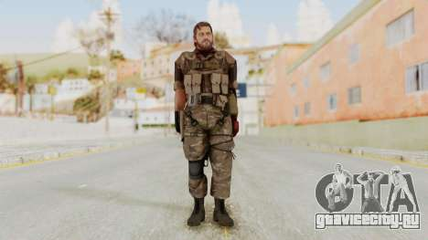 MGSV The Phantom Pain Venom Snake No Eyepatch v9 для GTA San Andreas второй скриншот