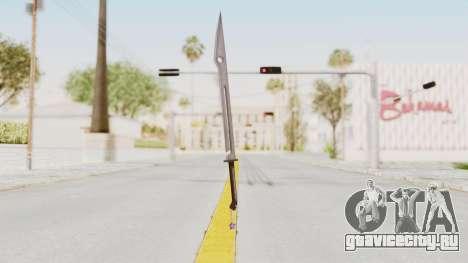 Saints Row 3 - Deckers Sword (Saints Style) для GTA San Andreas второй скриншот