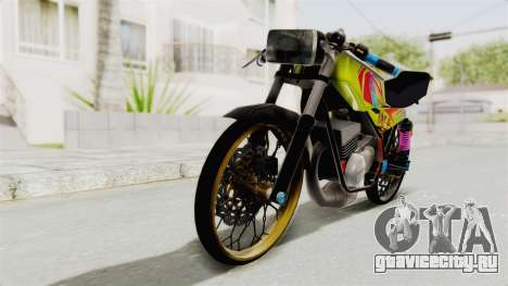 Yamaha RX King 200 CC Killing Ninja для GTA San Andreas