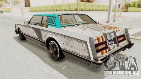 GTA 5 Dundreary Virgo Classic Custom v2 IVF для GTA San Andreas салон