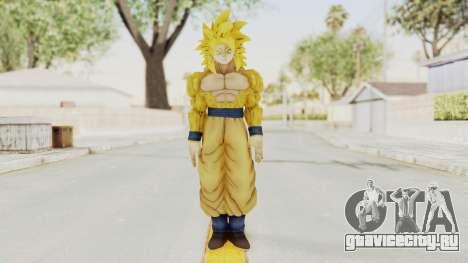 Dragon Ball Xenoverse Goku SSJ4 Golden для GTA San Andreas второй скриншот