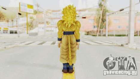 Dragon Ball Xenoverse Goku SSJ4 Golden для GTA San Andreas третий скриншот