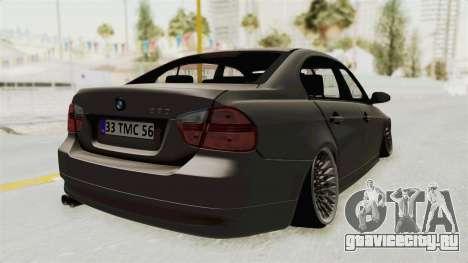 BMW 330i E92 Camber для GTA San Andreas вид слева
