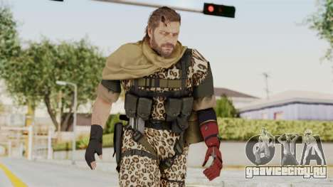 MGSV The Phantom Pain Venom Snake Sc No Patch v8 для GTA San Andreas