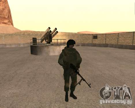 Спецназ РФ для GTA San Andreas второй скриншот
