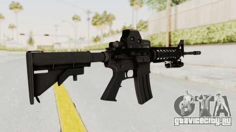 AR-15 with Eotech 552 and Flashlight для GTA San Andreas второй скриншот