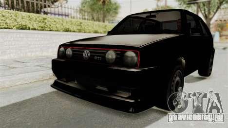 Volkswagen Golf 2 Tuning для GTA San Andreas
