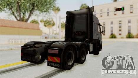 Volvo FM Euro 6 6x4 v1.0 для GTA San Andreas вид слева