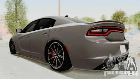 Dodge Charger RT 2015 для GTA San Andreas вид справа