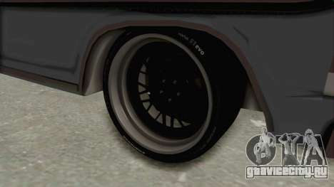 Ford F-150 Black Whells Edition для GTA San Andreas вид сзади