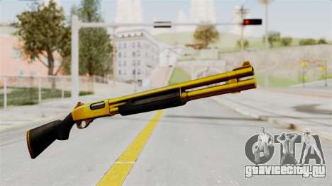 Remington 870 Gold для GTA San Andreas второй скриншот