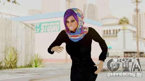 Iranian Girl Skin v2 для GTA San Andreas