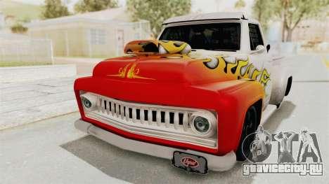 GTA 5 Slamvan Race PJ1 для GTA San Andreas вид сбоку