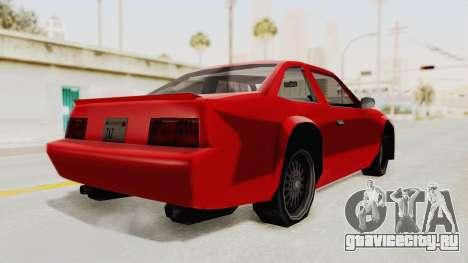 Imponte Centauro - Civil Hotring Racer A для GTA San Andreas вид сзади слева