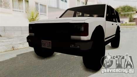 Dundreary Landstalker 1992 для GTA San Andreas