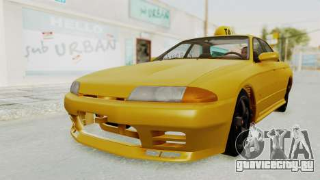 Nissan Skyline R32 4 Door Taxi для GTA San Andreas