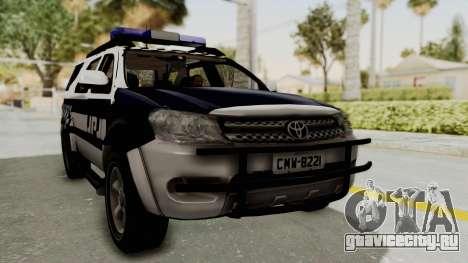 Toyota Fortuner JPJ White для GTA San Andreas