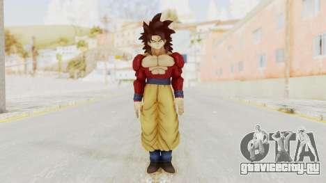 Dragon Ball Xenoverse Goku SSJ4 для GTA San Andreas второй скриншот