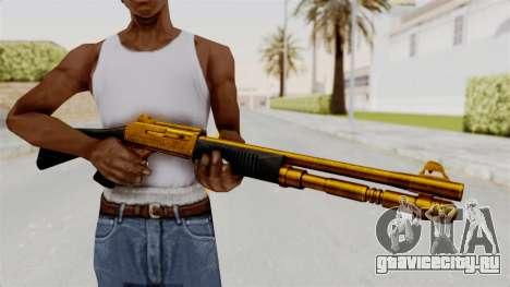 XM1014 Gold для GTA San Andreas третий скриншот