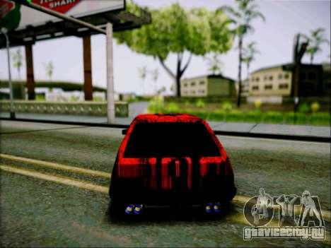 ВАЗ 2109 Злюка для GTA San Andreas вид справа