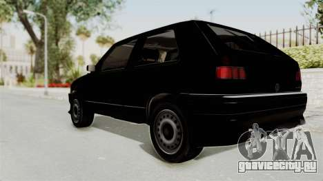 Volkswagen Golf 2 Tuning для GTA San Andreas вид слева