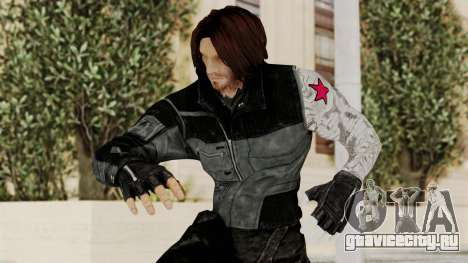 Captain America Civil War - Winter Soldier для GTA San Andreas