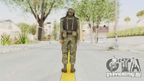 MGSV Ground Zeroes US Pilot v2 для GTA San Andreas третий скриншот