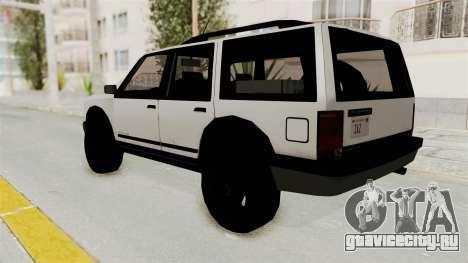 Dundreary Landstalker 1992 для GTA San Andreas вид слева