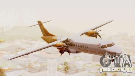ATR 72-500 Firefly Airlines для GTA San Andreas вид сзади слева