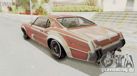 GTA 5 Declasse Sabre GT2 A для GTA San Andreas салон