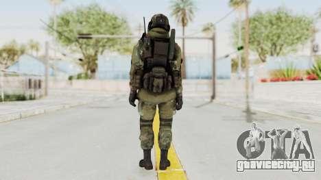 Advanced Warfare North Korean Assault Soldier для GTA San Andreas третий скриншот