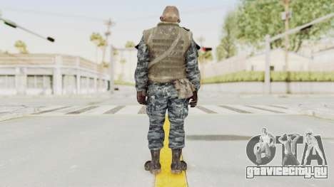 COD BO Russian Spetznas Flak MP v4 для GTA San Andreas третий скриншот
