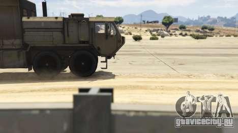 Heavy Expanded Mobility Tactical Truck для GTA 5 вид справа