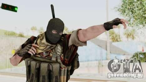 Battery Online Russian Soldier 3 v2 для GTA San Andreas