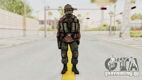 Battery Online Russian Soldier 10 v2 для GTA San Andreas второй скриншот