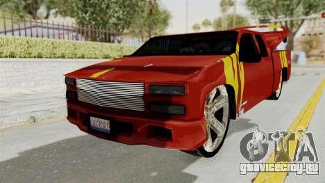 Mitsubishi Pajero Iraqi Pickup для GTA San Andreas вид сзади слева