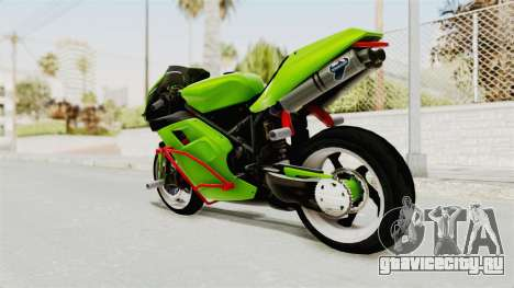 Ducati 998R Modif Stunt для GTA San Andreas вид слева